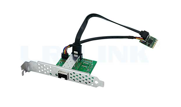 新品尝鲜:LR-LINK联瑞M.2(A +E key)单光口千兆以太网网络适配器隆重上市