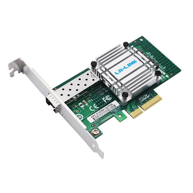 PCIe x4万兆单光口服务器网卡(基于 Tehuti TN4010B0)