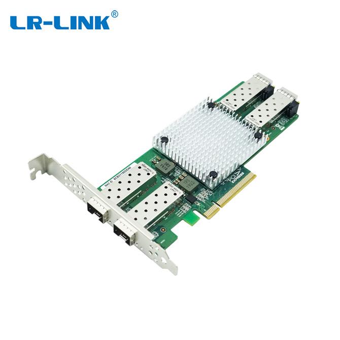 PCIe x8 四光口双向10G SFP+以太网网络适配器 (基于Intel 主控)