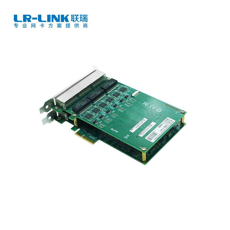 PCIe x4 十二电口千兆以太网网络适配器(基于Intel主控)